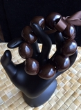 Hawaiian Kukui Nut Bracelet- Brown
