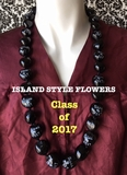 Hawaiian Kukui Nut Graduation Lei-Class of 2017-Custom Lei