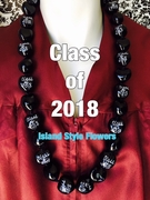 Hawaiian Kukui Nut Graduation Lei-Class of 2018-Custom Lei