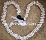 Hawaiian White Mongo Shell Lei Necklace