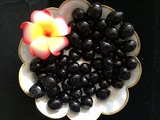LOOSE Kukui Nuts- Black   10 pcs
