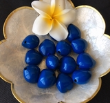 LOOSE Kukui Nuts- Blue   10 pcs