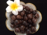 LOOSE Kukui Nuts- Brown   10 pcs