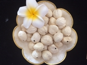 LOOSE Kukui Nuts- Cream-Unpolished   10 pcs