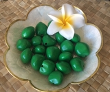 LOOSE Kukui Nuts- Green   10 pcs