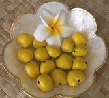 LOOSE Kukui Nuts- Yellow   10 pcs