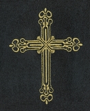 Gold Cross Intricate