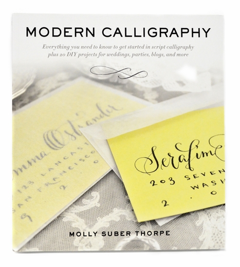 Modern Calligraphy By Molly Suber Thorpe