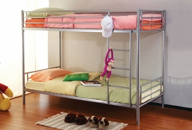 "2"" Tube Twin/Twin Bunk Bed"