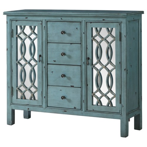 - Antique Blue Cabinet - Dallas Fort Worth