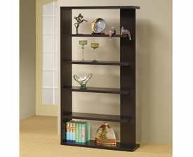 One Side Open 5 Tier Bookshelf