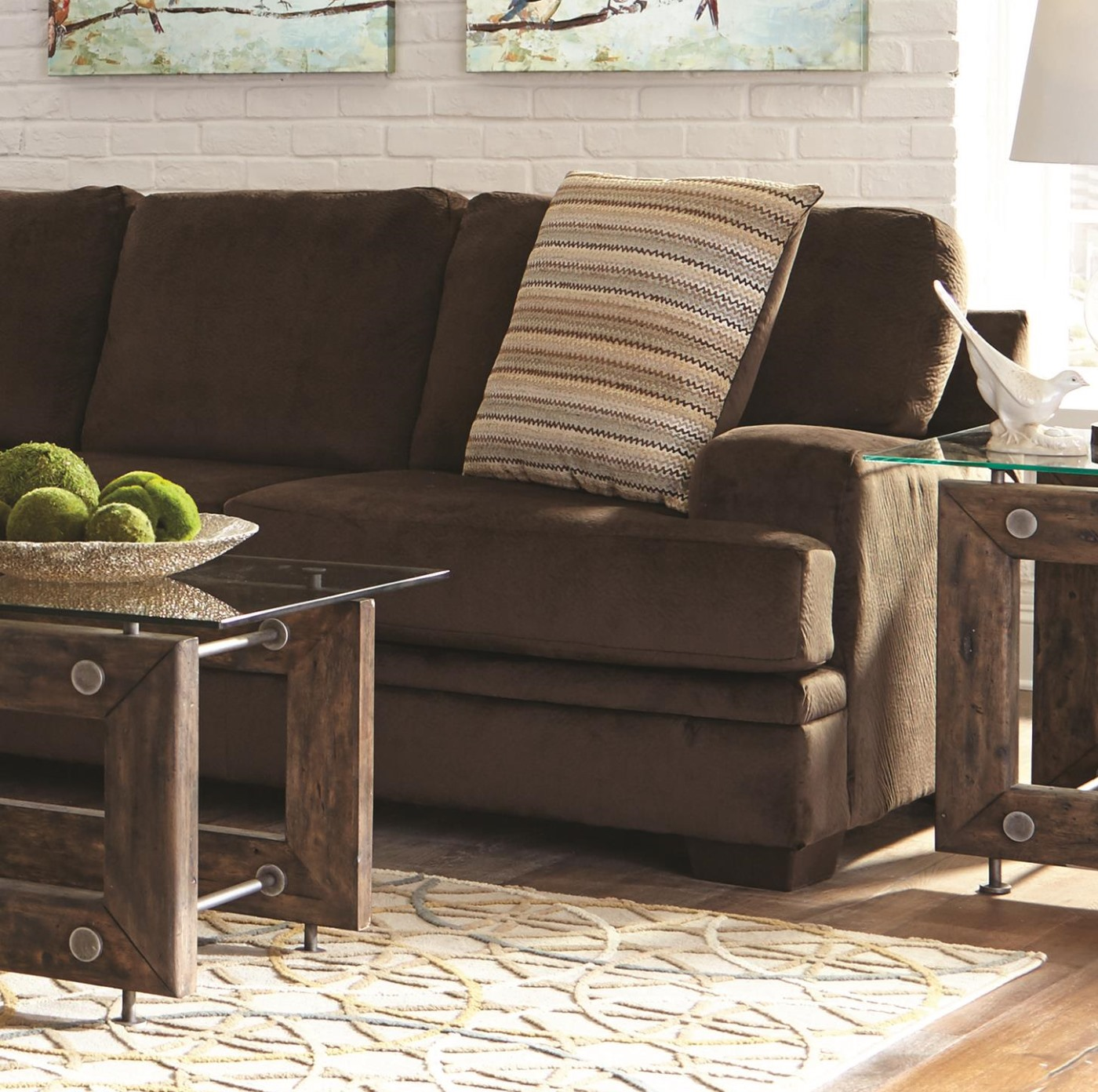 Robion sectional 501147 dallas designer furniture 4 less for Furniture 4 less dallas tx