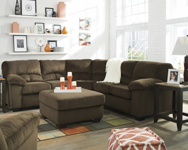 Dailey Chocolate Sectional # 95403