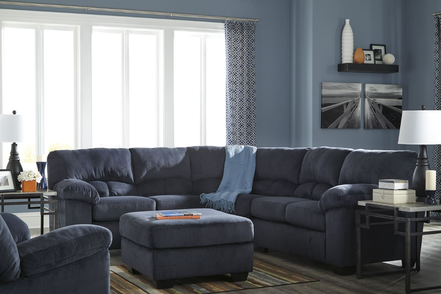 Dailey Sectional 95403 Dallas Designer Furniture 4 Less