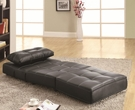 Accent Armless Lounge Chair/Sofa Bed