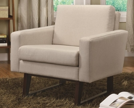 Accent Chair w/ Exposed Wood