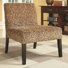 Accent Chair w/ Wood Legs