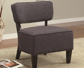 Accent Chair with Linen Texture Fabric