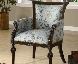 Accent Elegant Exposed Wood Chair