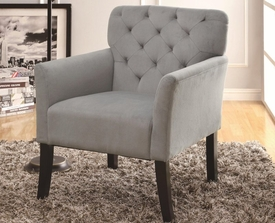 Accent Microvelvet Chair