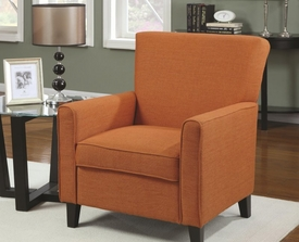 Accent Orange Chair