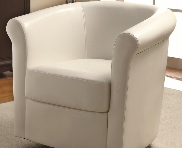 Accent Seating Barrel Back Swivel Accent Chair