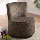 Accent Seating Round Swivel Chair