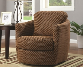 Accent Seating Swivel Upholstered Chair
