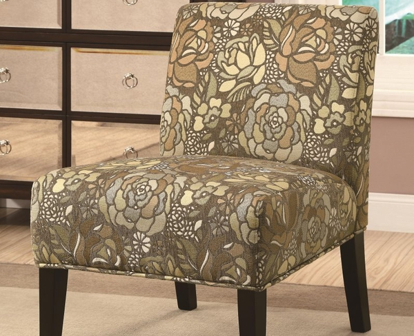 Accent Stained Glass Pattern Chair