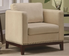Accent Track Arms Chair