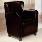 Accent Upholstered High Back Chair