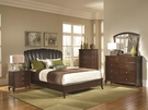Addley Collection with Upholstered Bed 5-pc Set