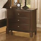 Addley Night Stand with 3 Drawers