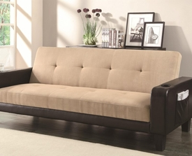 Adjustable Sofa with Cup Holders and Magazine Storage