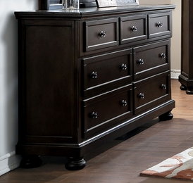 Begonia Gray Dresser with Hidden Drawer