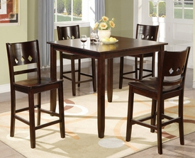 Avery 5-Pc Counter Height Dining Set # F2243