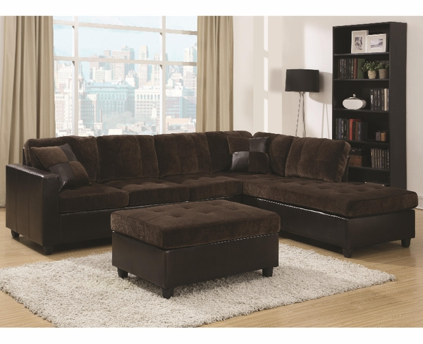 Mallory Reversible Sectional # 505645