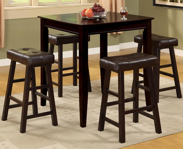 Beatrice 5-Pc Counter Height Dining Set