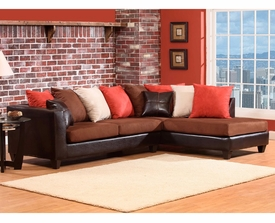 Jefferson Multi Color Sectional # 4184-07