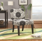 Big Flower Accent Chair