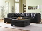 Darie Leather Sectional # 500606