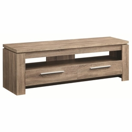 Weathered Brown TV Stand
