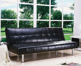 Black Finish Bycast Adjustable Sofa