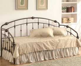 Black Metal Finish Daybed
