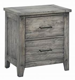 Nelson Grey Nightstand
