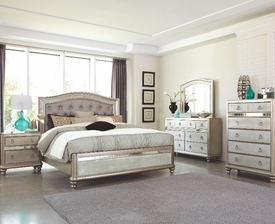 Bling Game 4-pc Bedroom Set