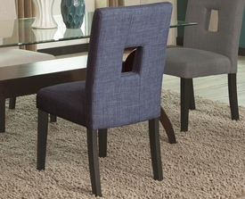 Blue Side Chair # 106654 (2pk)