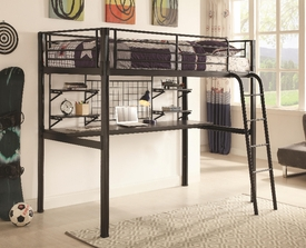 Boltzero Twin Loft Workstation Bed
