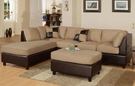 Bonnie 3-Pc Sectional Sofa