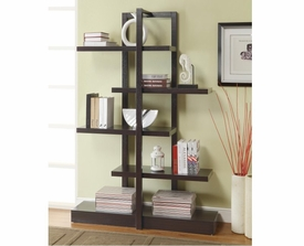 Bookshelf with 5 Open Shelves